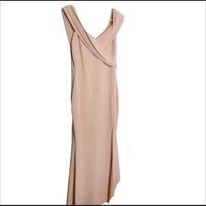 Windsor light pink maxi dress